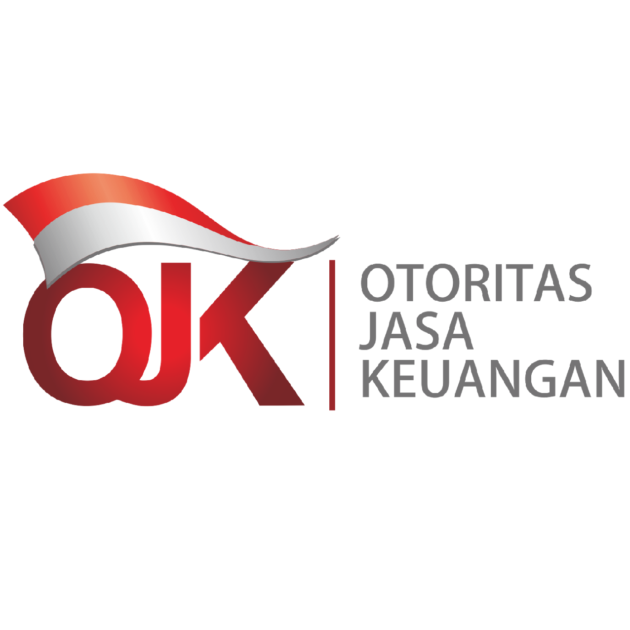 Ojk  otoritas jasa keuangan  vector logo